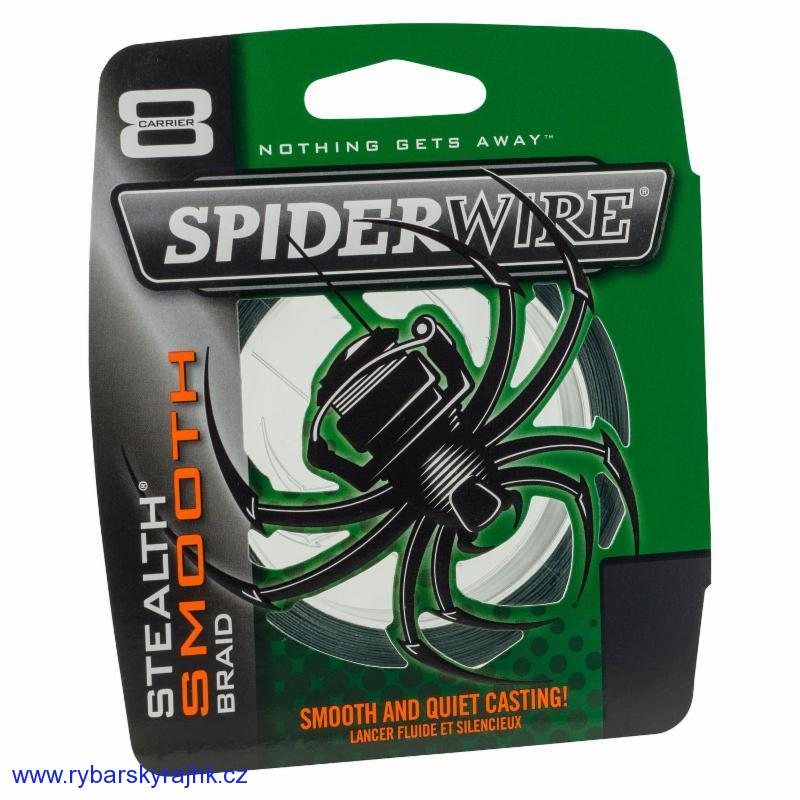 Spiderwire stealth smooth8 0,30 mm 34,3 kg metráž