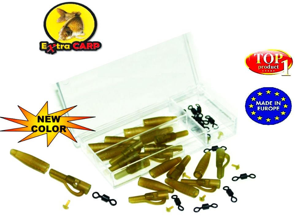 Lead clip extra box Extra carp 10 ks