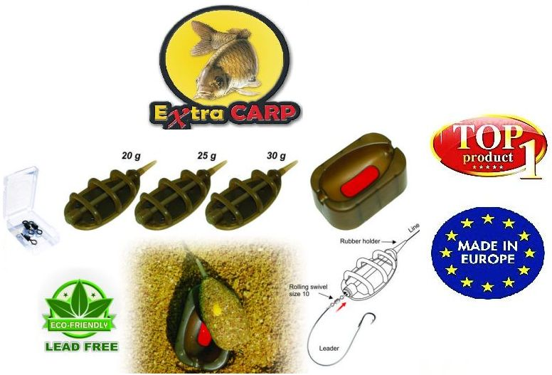 Set Extra carp method feeder