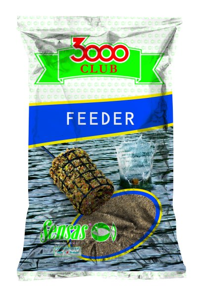 Krmení Sensas 3000 Club feeder 1 kg