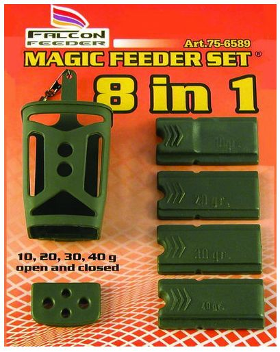 Magic feeder set Falcon 8in1