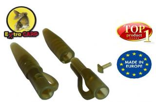 Lead clip with tail rubber Extra carp 10 ks