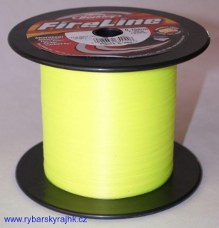 Šňůra Berkley Fire line Flame green 0,15 mm 7,90 kg metráž