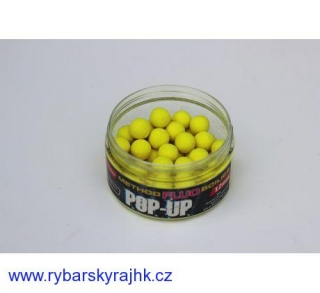 Method fluo pop-up dipované 12 mm 30 g ananas