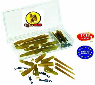 Lead clip with quick change set Extra carp10 ks